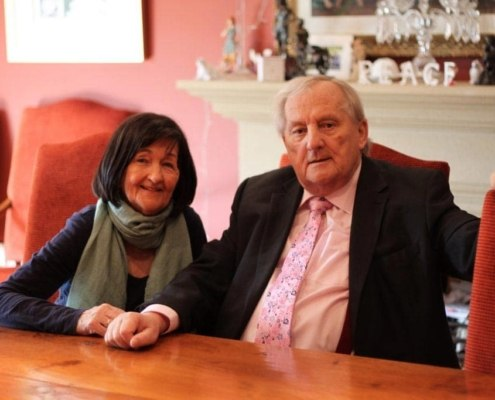 Noel and Carmel Sweeney